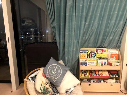 絵本棚・おもちゃ収納・スリム