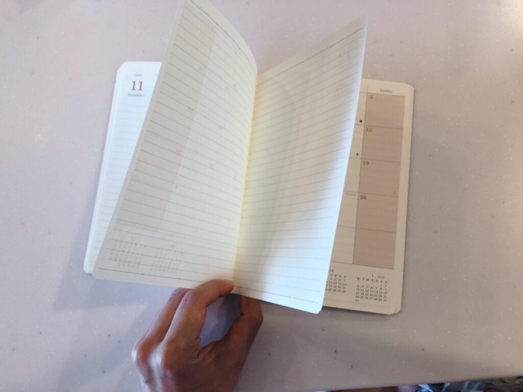 アデリアレトロの手帳